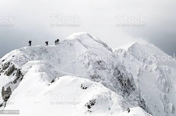 Photo of high altitude mountaineering