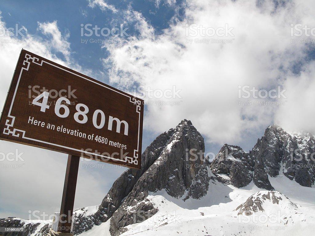 high altitude royalty-free stock photo
