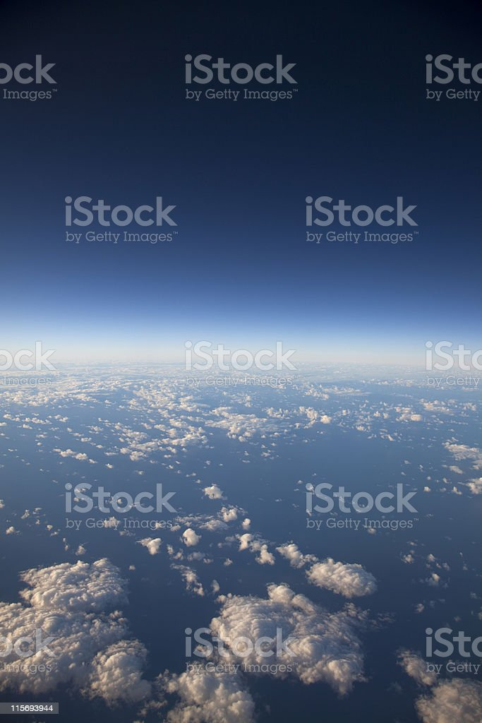 High Altitude View royalty-free stock photo