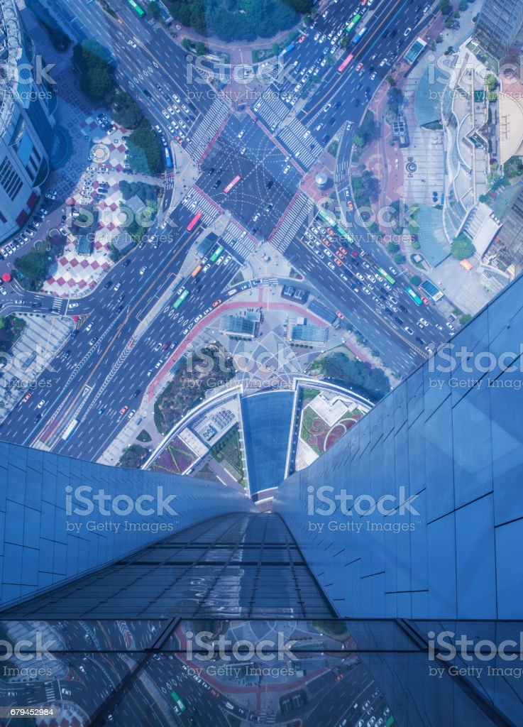 High angle view from Building royalty-free stock photo