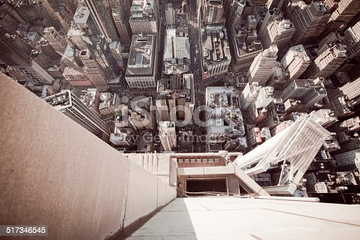 istock High angle view from Empire State Building at 86th floor 517346545
