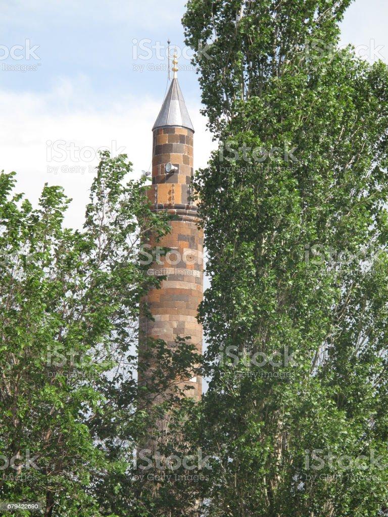 Vue d'angle élevé de la ville de Kars. Kars est une ville du nord-est de la Turquie et la capitale de la Province de Kars. photo libre de droits