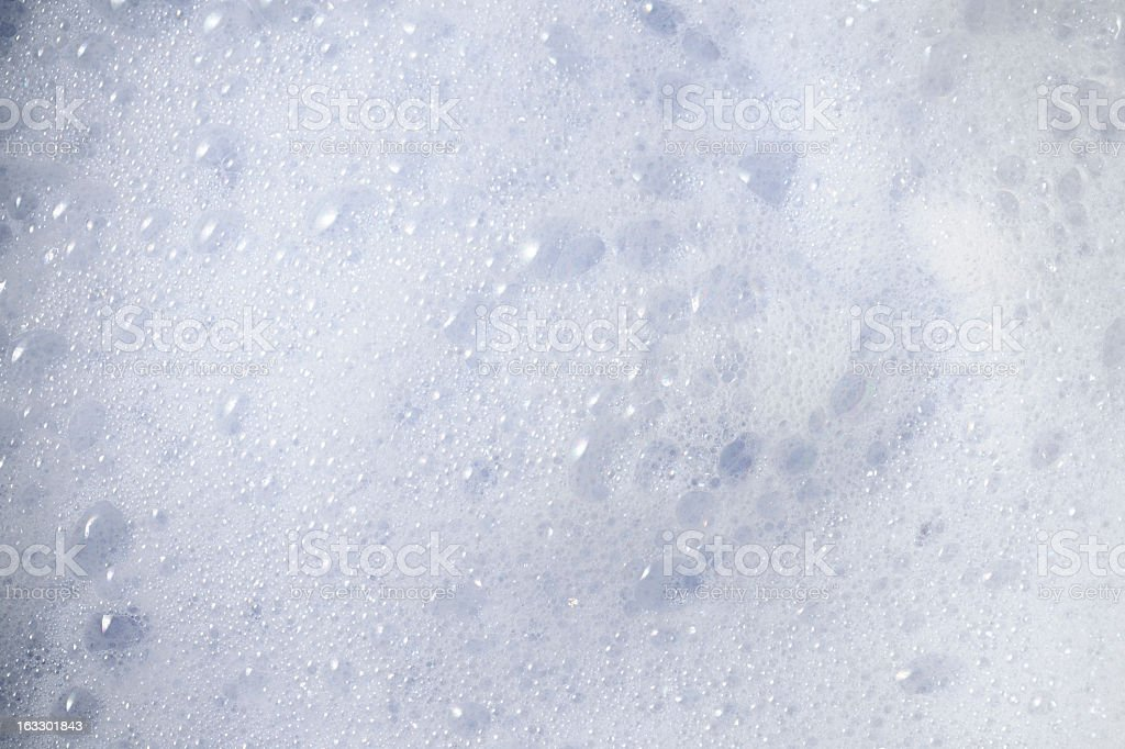 High angle view of soap bubbles texture background royalty-free stock photo