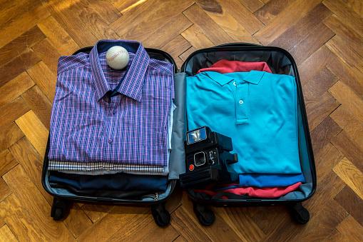 Suitcase, Luggage, Bag, Passport, Camera - Photographic Equipment,