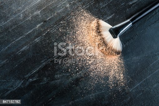 istock high angle view photo of new cosmetic brush 847152782