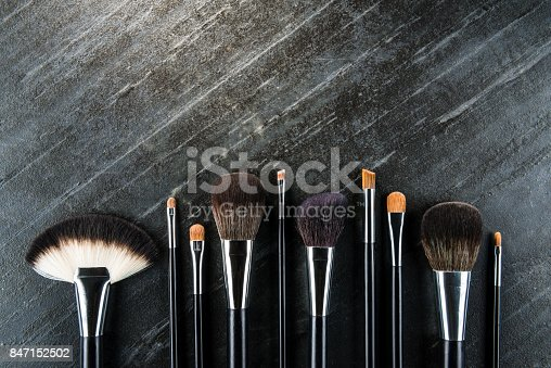 847152782 istock photo high angle view photo of professional brush 847152502