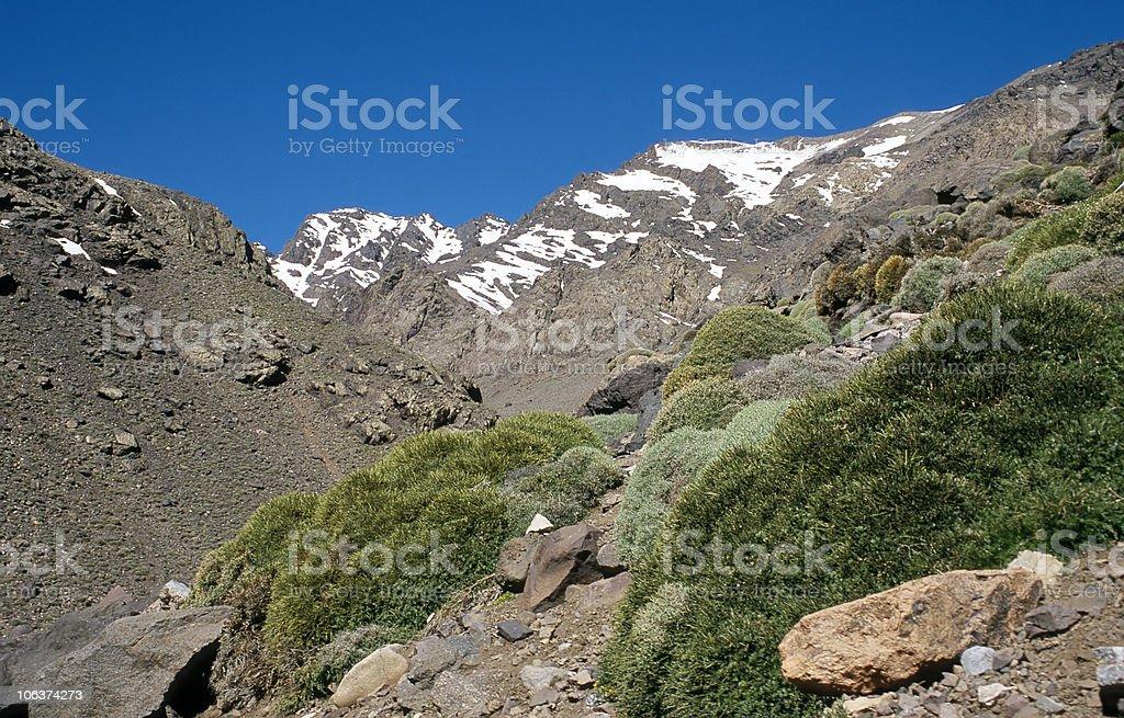 High Atlas, Morocco royalty-free stock photo