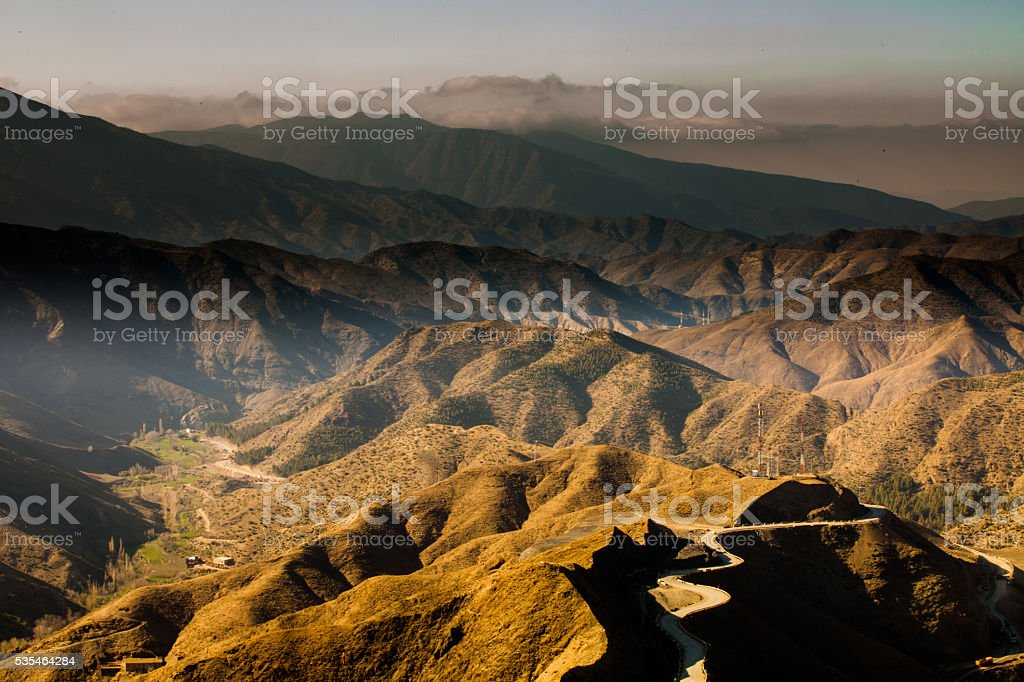 High Atlas Mountains, Morocco stock photo