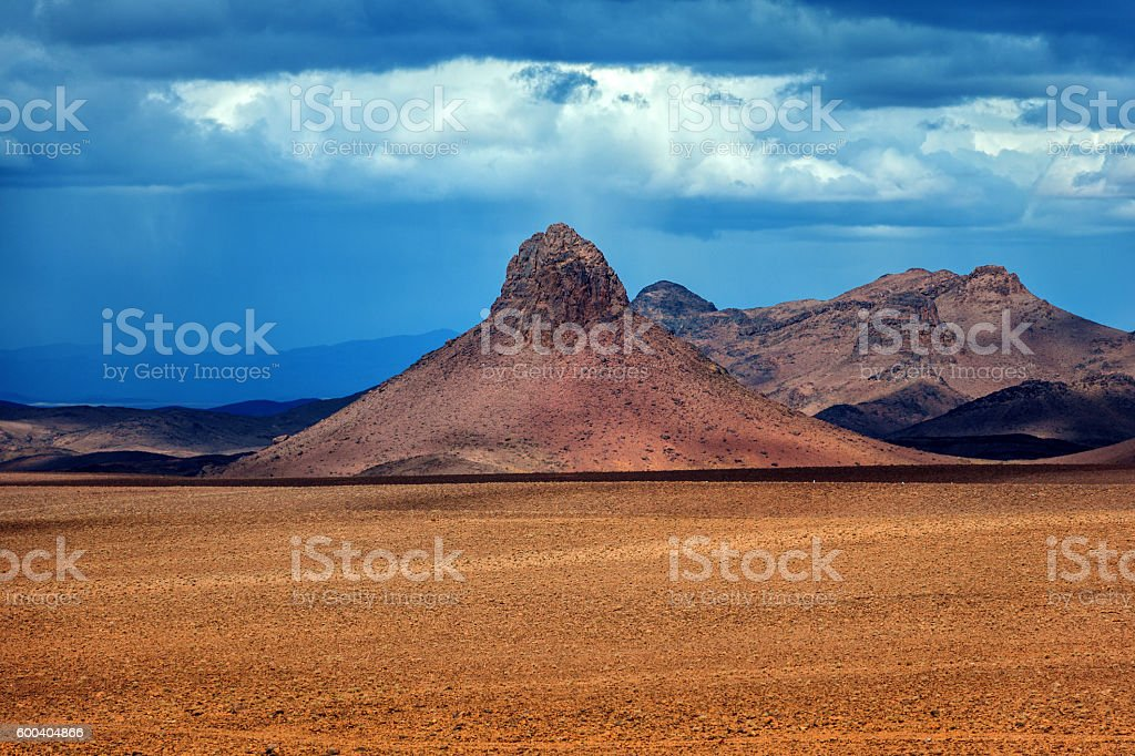 High Atlas mountains, Pass, Morocco, Africa stock photo