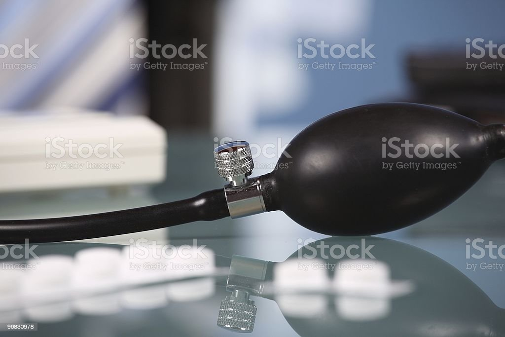 High Blood Pressure in Job royalty-free stock photo