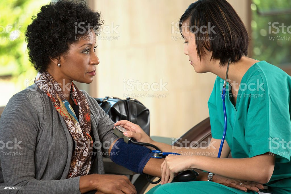 High Blood Pressure stock photo