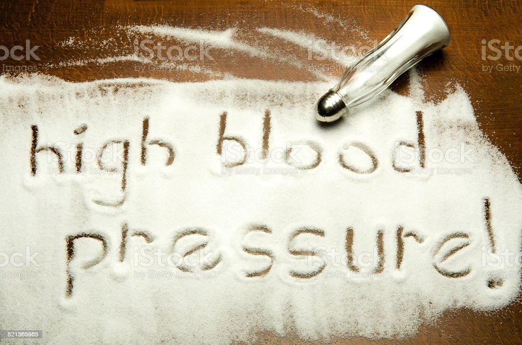 high blood pressure ! stock photo