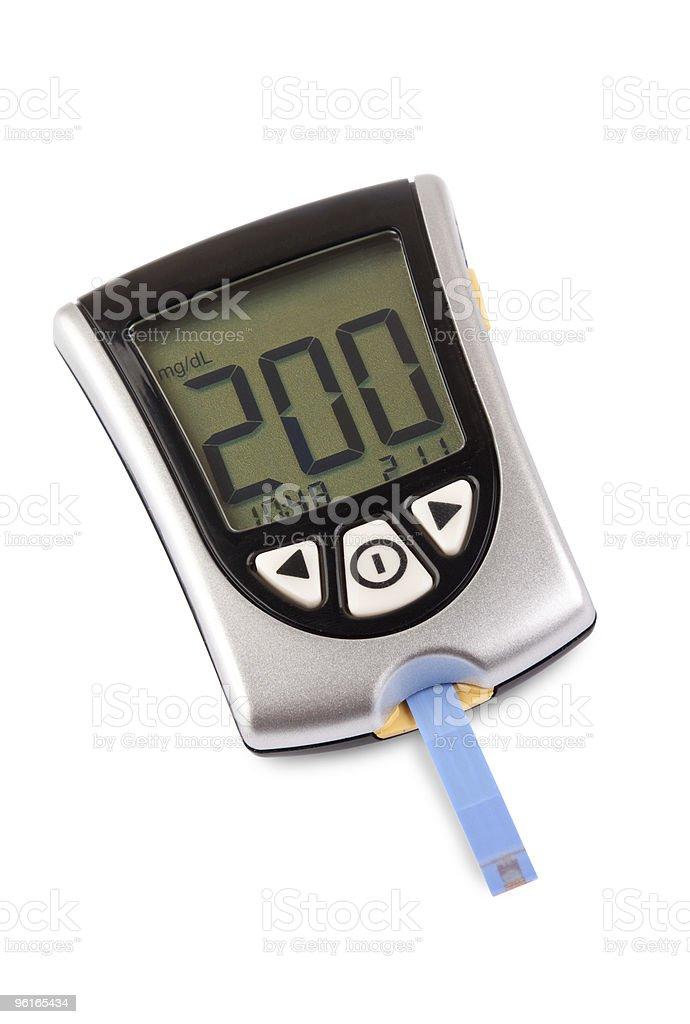 High blood sugar level royalty-free stock photo