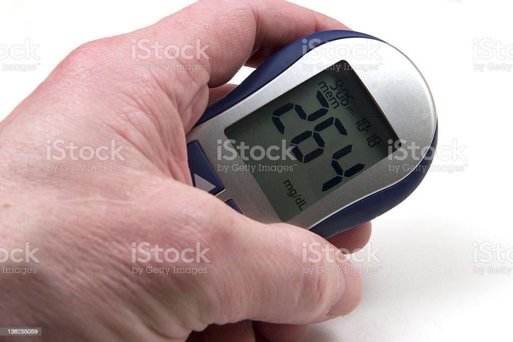 High Blood Sugar stock photo