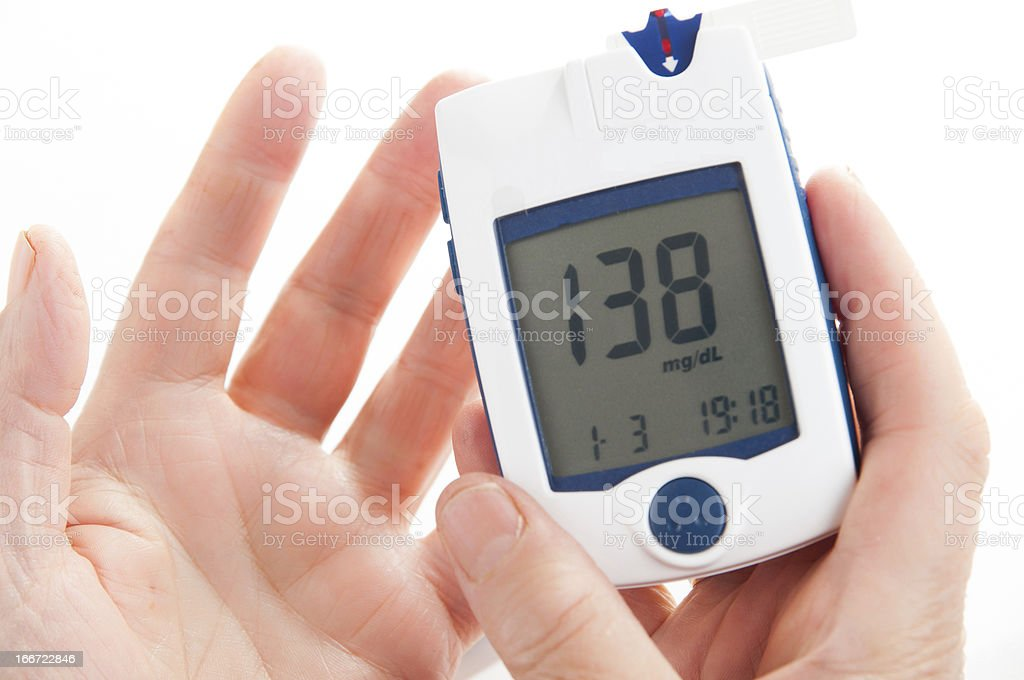 High Blood Sugar royalty-free stock photo
