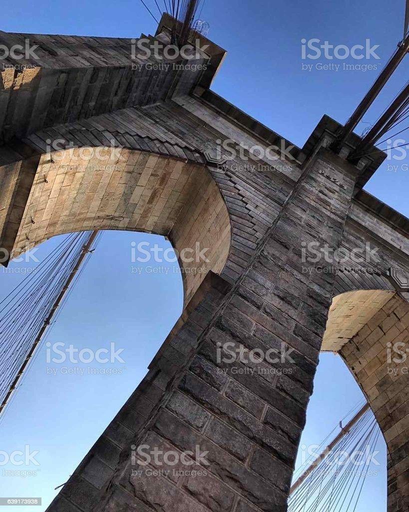 High bridge stock photo