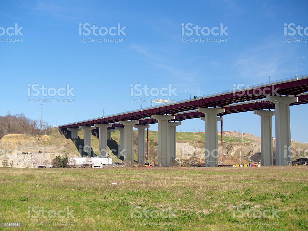 High bridge royalty-free stock photo