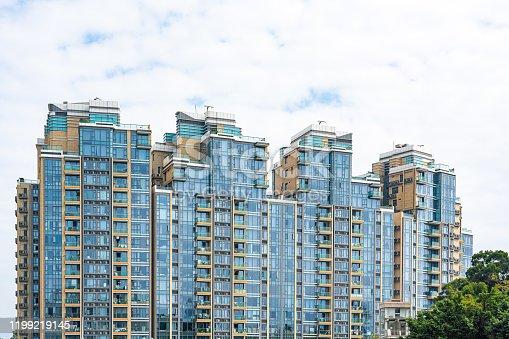 High building of Ho Man Tin in Hong Kong, China