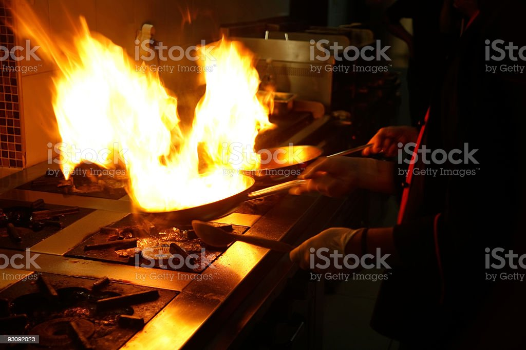High class cooking royalty-free stock photo