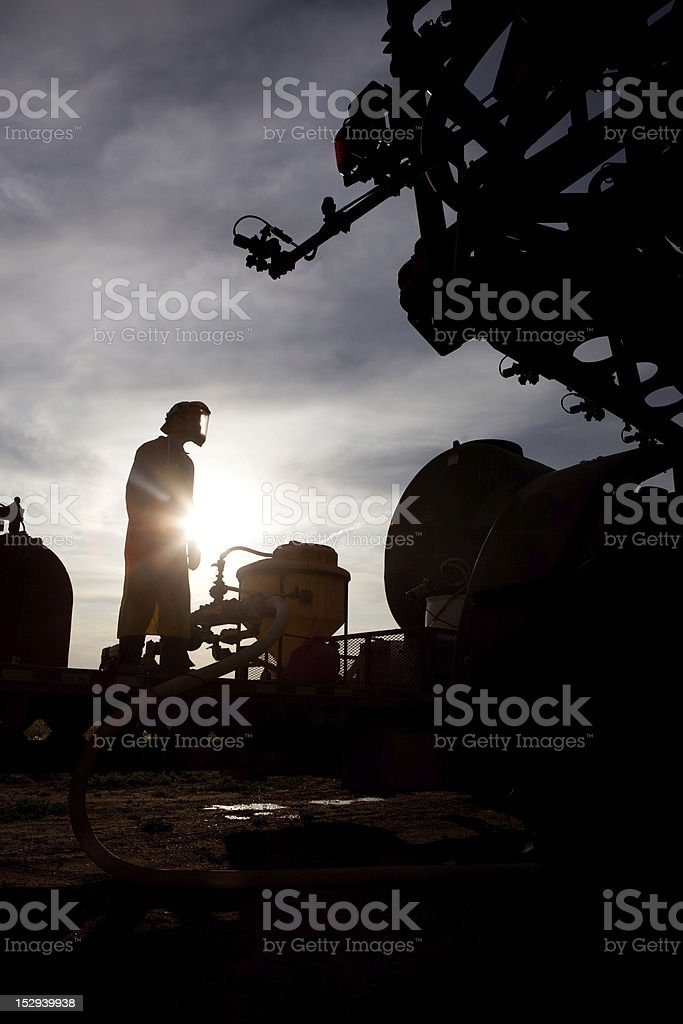 High Clearance Sprayer royalty-free stock photo