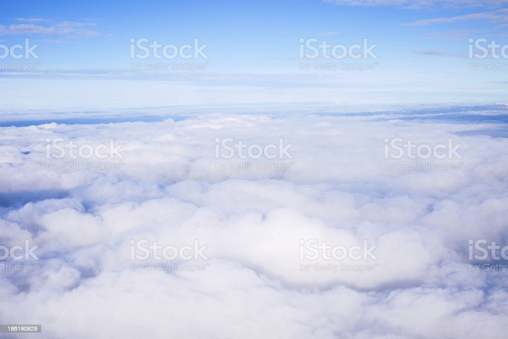 High clouds royalty-free stock photo