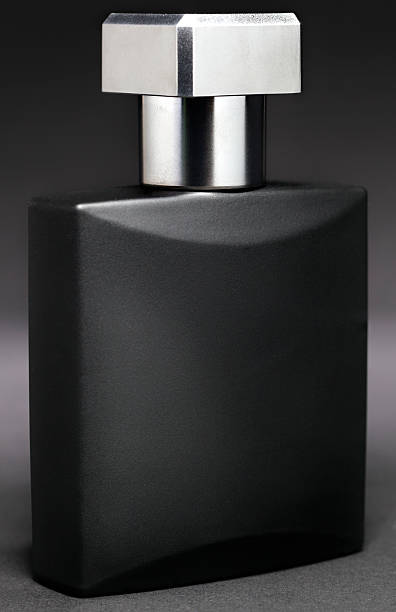 high contrast Aftershave stock photo