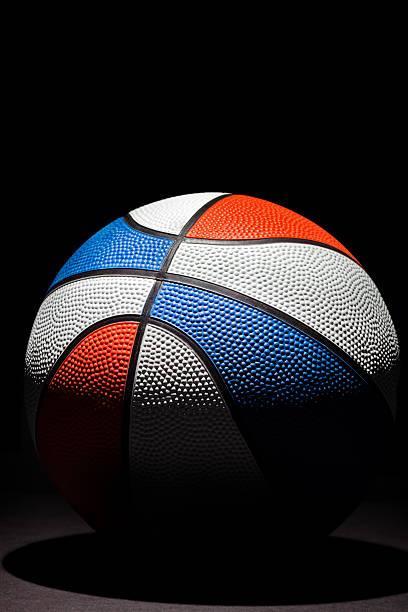 high Contrast Basketball stock photo