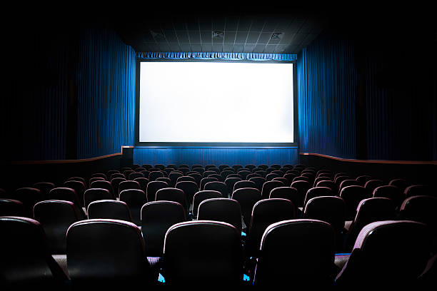 theater movie screen cinema movies contrast watching blank royalty similar market audience facing