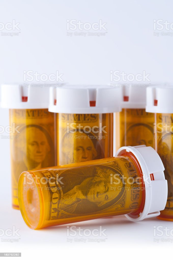 High Cost Healthcare royalty-free stock photo