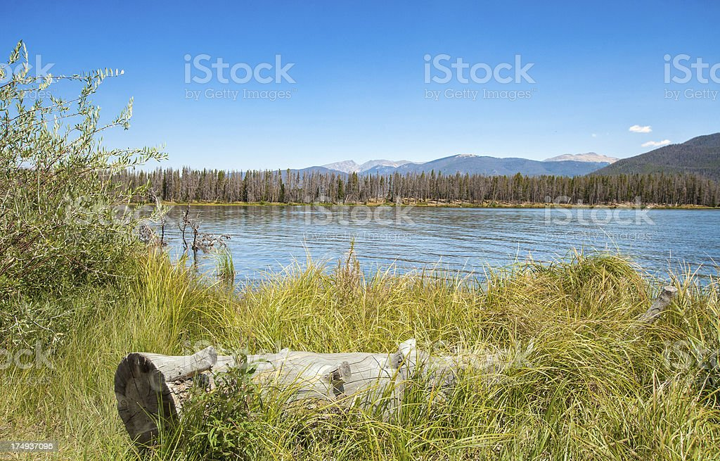 High Country Mountain Lake royalty-free stock photo