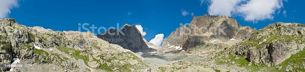 High country wilderness summer Alps royalty-free stock photo