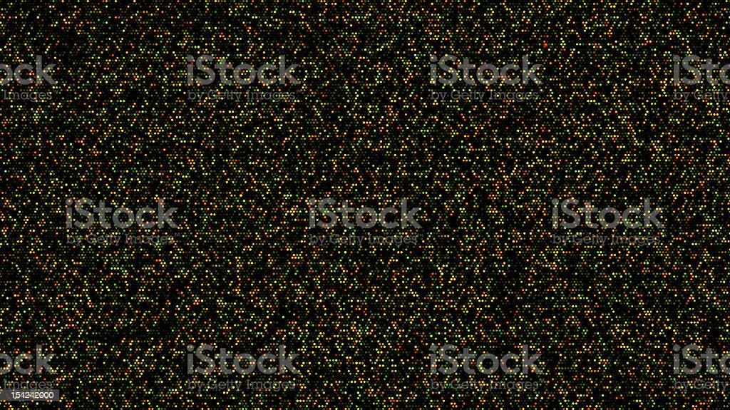 High density DNA microarray stock photo