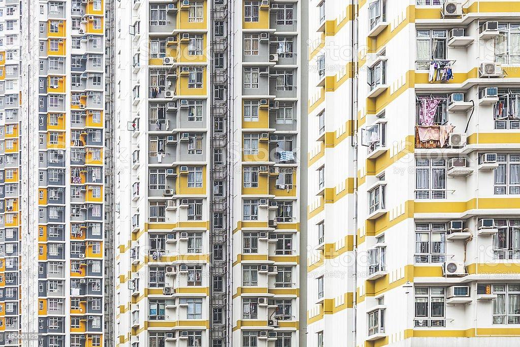 High density living. stock photo