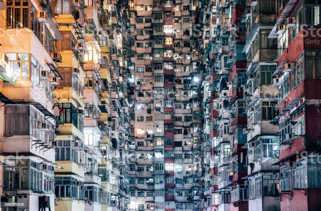 High Density Living stock photo