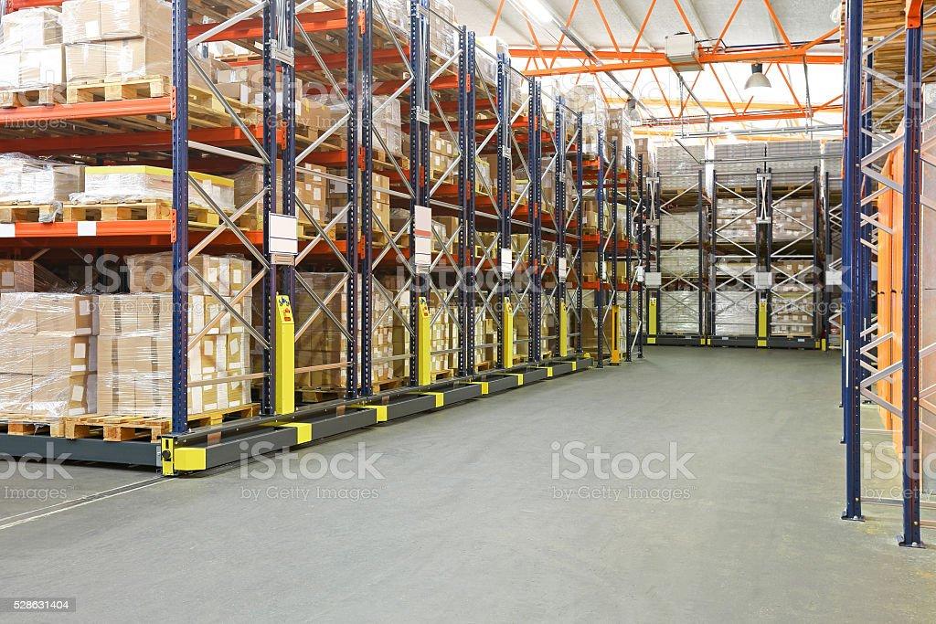 High Density Warehouse stock photo