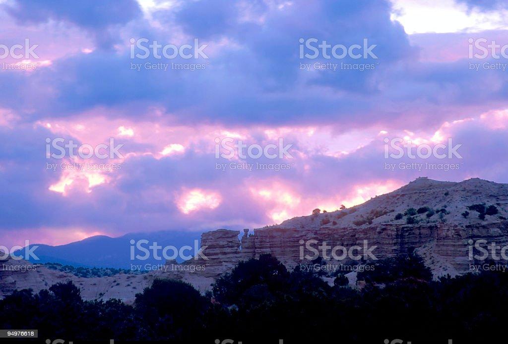 High Desert Dawn royalty-free stock photo