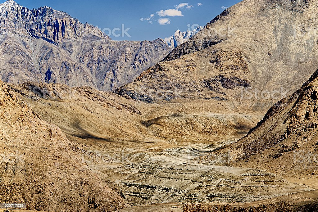 High Dynamic Range, ladakh ,Jammu and Kashmir, India stock photo