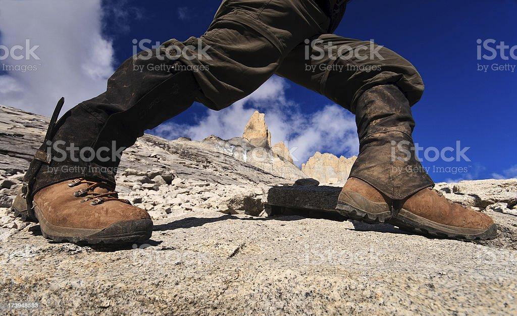 High Elevation Hiking royalty-free stock photo