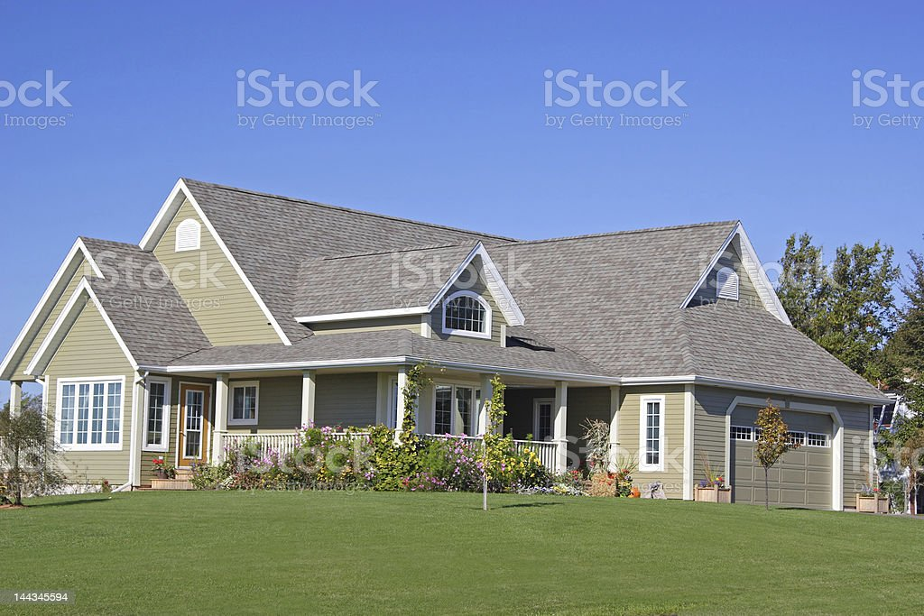 High End Home royalty-free stock photo