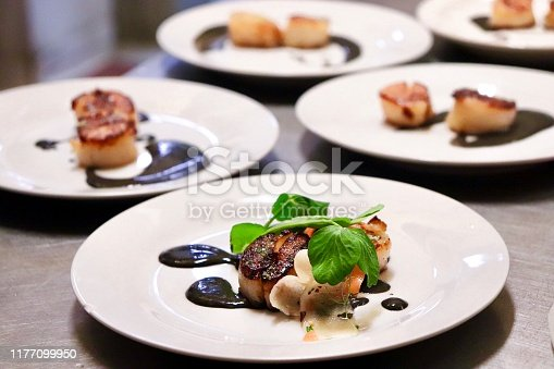 High End Plated Food Dish