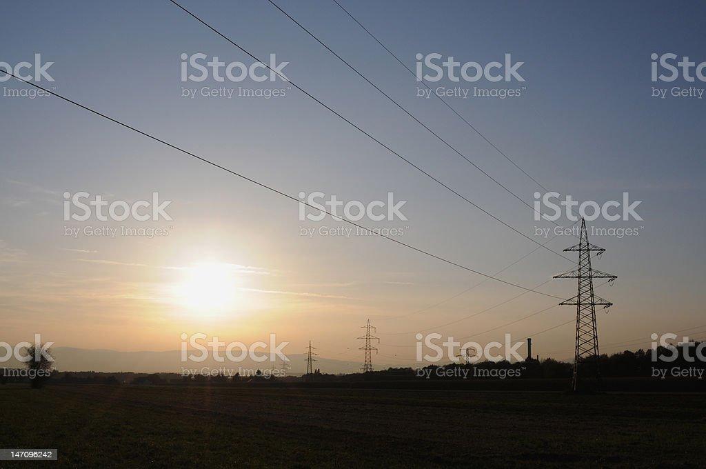 high energy royalty-free stock photo