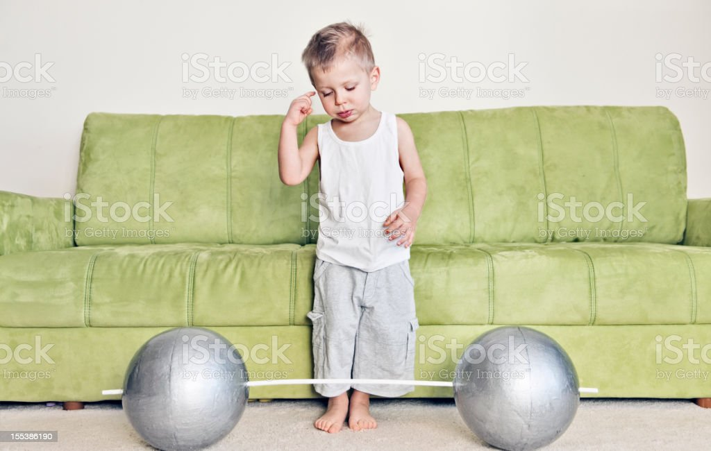 High expectations stock photo