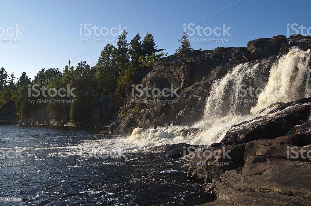 높은 폴즈 in Muskoka, Ontario royalty-free 스톡 사진