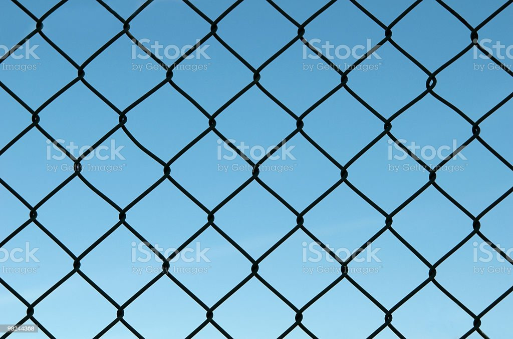 high fence royalty-free stock photo