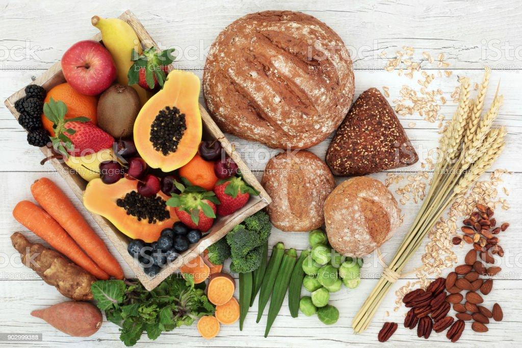 High Fiber Health Food stock photo