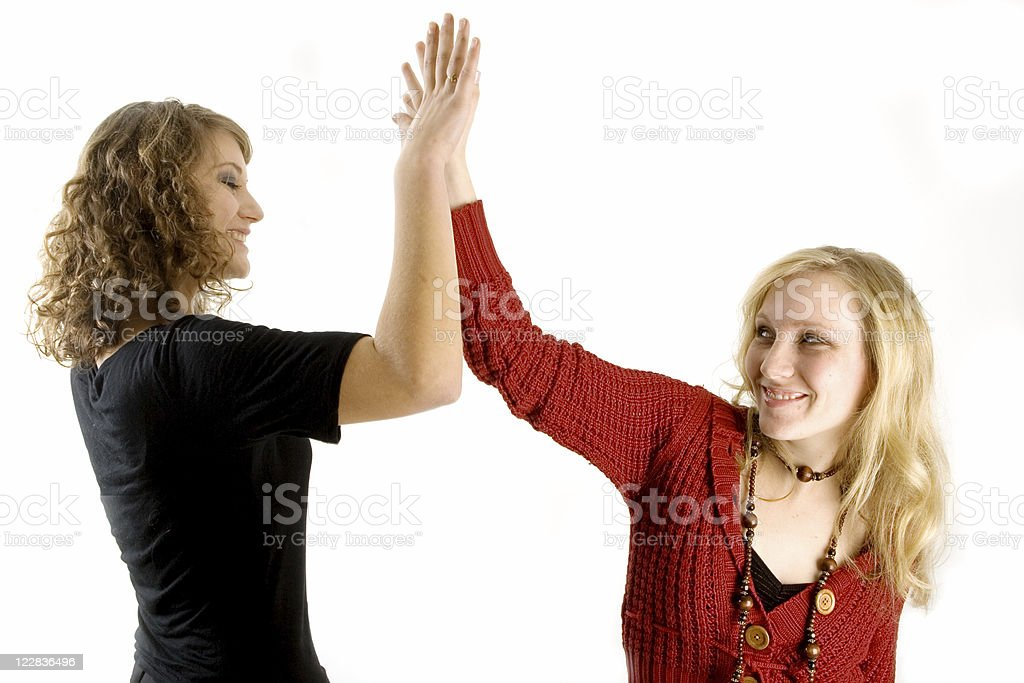 high five royalty-free stock photo