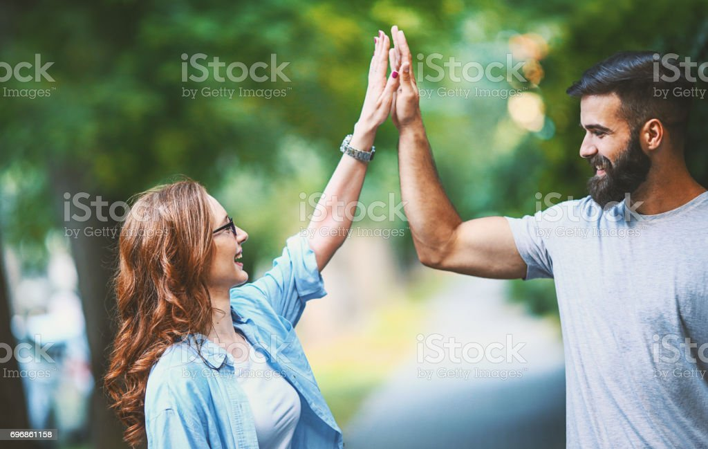 High five. - foto stock