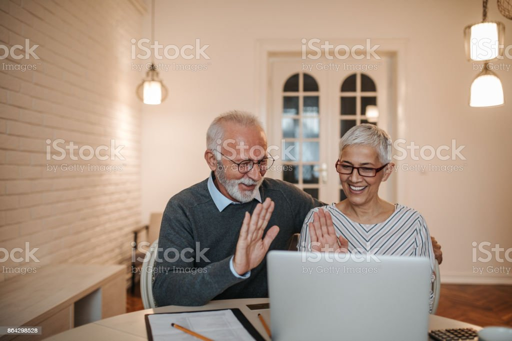 High five, we are doing well! royalty-free stock photo