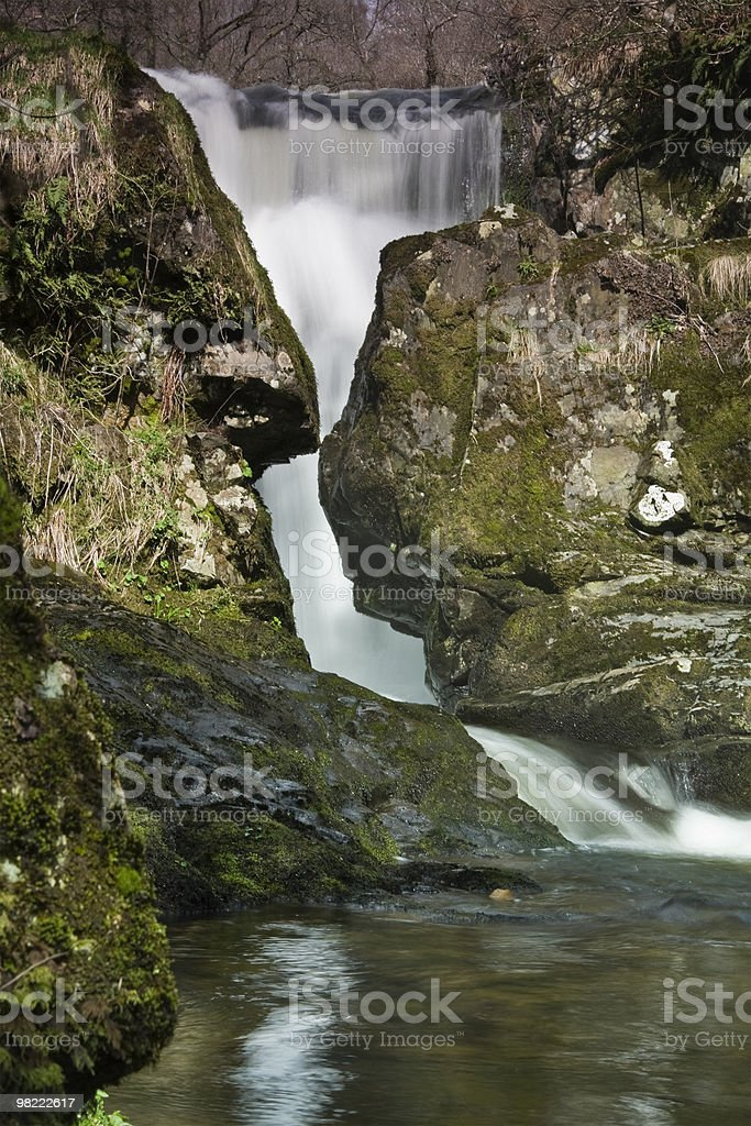 High Force waterfall royalty-free stock photo