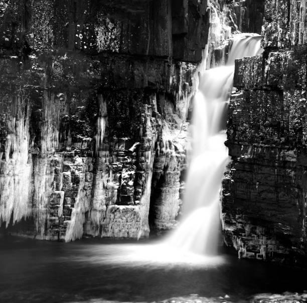 High Force waterfall, Yorkshire, England UK stock photo